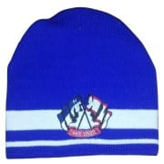 czapka zimowa z własnym haftem