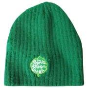 czapka zimowa z haftem własnego projektu