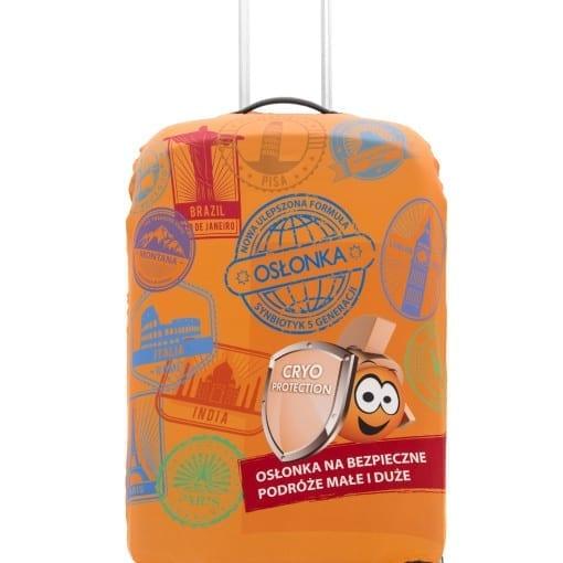 Pokrowce na walizki z własnym nadrukiem