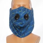 maska antysmogowa z własnym nadrukiem